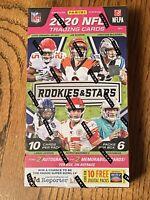 NFL Football Panini Rookies & Stars Hobby Box Random Team Box Break-See Details