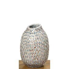 Vase Maline blau-braun