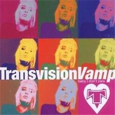 TRANSVISION VAMP BABY I DON'T CARE CD NEW