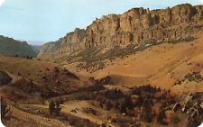 postcard USA  Wyoming  Scene in Upper Ten Sleeps canyon   unposted