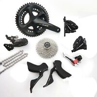 Shimano 105 R7020 2 x 11 Speed 50/34 Hydraulic Disc Brake Groupset Build Kit