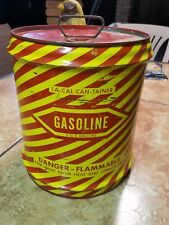VINTAGE LA CAL CAN TRAINER  GAS CAN NICE!!!