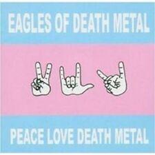 "EAGLES OF DEATH METAL ""PEACE LOVE DEATH METAL"" CD NEW!"