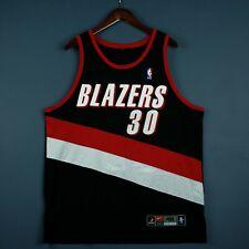100% Authentic Rasheed Wallace Vintage Nike Blazers Jersey Size 48 XL Mens