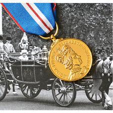 Queen Elizabeth II GOLDEN JUBILEE Medal - FULL SIZE - British Made 2002 Award