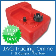 BOAT FUEL TANK 11.3 LITRE - Marine Tinnie Outboard Portable Universal Petrol 12L