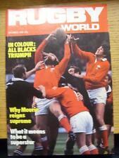 Mondo di Rugby 01/12/1980 Magazine: DICEMBRE EDITION-Completo di emissione della monthl