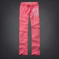 Hollister Ladies Skinny Sweatpants Sequin Joggers Pink Navy Blue XS S M L BNWT