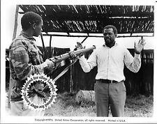 Lot of 3a, SIDNEY POITIER, Michael Caine mint stills THE WILBY CONSPIRACY (1975)