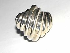 .925 Swirl Dome Style Cocktail Ring Size 6