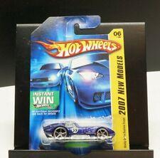 Hot Wheels 2007 New Models Blue Shelby Cobra Daytona Coupe Vehicle Collection
