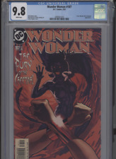 WONDER WOMAN #187 MT 9.8 CGC WHITE PAGES CHEETAH APP. ADAM HUGHES COVER LANNING