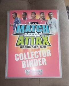 Match Attax 2007/2008 100% Complete Full Binder + 5 LE Cards!