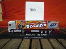 HERPA 188425 camions DAF 95 xf AEROP. ssc réfrigération dedevenir Brand d2-callya, d2 privée en OVP