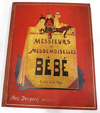 * L'IMAGERIE ARTISTIQUE - MAISON QUANTIN - HORS SERIE : IMAGES ENFANTINES - 1894