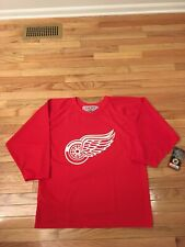 Detroit Red Wings NHL Vintage Authentic CCM Jersey NWT Men's Size M