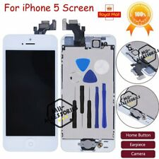 Display For iPhone 5 LCD Touch Screen Digitizer Full Replacement White Assembly