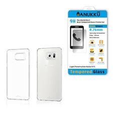 Custodia Cover Trasparente + Vetro Temperato Per Samsung Galaxy Note 5 N920