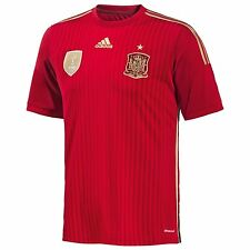 Adidas Authentic Spain Home Jersey World Cup 2014