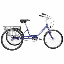 "New Evo Latitude 1 Adult 24""  Tricycle  /  Trike Blue Bicycle Holiday Sale!!!"