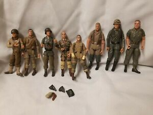 """Lot 8 21st Century Toys World War 2 Action Figures Free Shippin 4"""" + Accessories"""