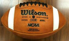 Wilson Gst Game Leather Football in Brown 1003 Ncaa Official [Id 5746]