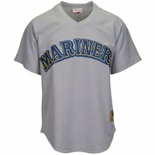 MITCHELL & NESS Seattle Mariners Ken Griffey Jr. Throwback Mesh Jersey Medium