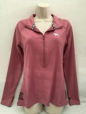 VICTORIA'S SECRET PINK ULTIMATE DEEP  ZIP HOODIE / PULL OVER/CREW,BEGONIA 2016-L
