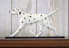 Dalmatian Figurine Sign Plaque Display Wall Decoration Liver