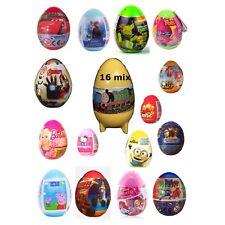 NEW 16 Surprise Eggs , Cars, Blaze, Paw Patrol, Super Wings, Barbie, Thomas Etc