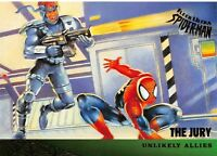 THE JURY / Spider-Man Fleer Ultra 1995 BASE Trading Card #130