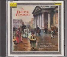 A Festive Consort - Maurice Murphy, Roberty Haydon Clark (CD 1989) TOP!!!