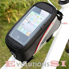 MINI ALFORJAS BICICLETA FUNDA MOVIL BOLSO BICI BOLSA PARA LLAVES CARTERA CAMARAS
