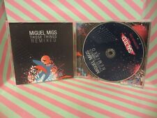 MIGUEL MIGS Those Things Remixed CD SLT253-2