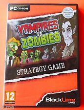 Vampires VS Zombies - NEW Sealed CD Rom Software  *** FREE Shipping ***
