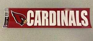 Arizona Cardinals Vibrant Official NFL Team Logo Car Bumper Sticker Decor Decal
