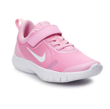 Nike FLEX EXPERIENCE RN 8 PSV Pink Rise/White-Pink Foam Girls Running Shoes 3Y