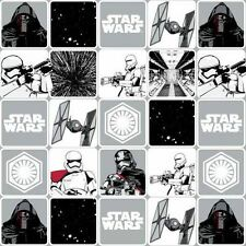 Star Wars The Force Awakens Grid Stone Patchwork Fabric 50cm(1/2mtr) -7770076