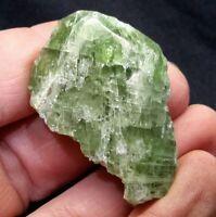 "1.75"" GREEN DIOPSIDE CRYSTAL from Skardu, Pakistan"