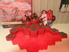 Heroscape - Volcarren Wasteland Terrain Expansion - 100% Complete