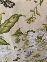 WILLIAMSBURG WAVERLY Dogwood Magnolia Pillow shams cases Made USA Vintage 24X38
