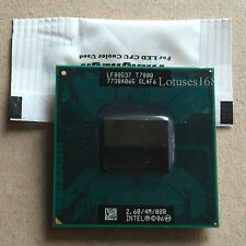 Intel Core 2 Duo t7800 2,6 GHz Dual-Core 4m/800 socket del processore P SLAF 6