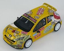 PEUGEOT 207 S2000 GIACOMELLI RALLY SAN MARTI 1/43 SCALE DECALS ONLY NO MODEL CAR