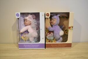 Anne Geddes Bean Filled Soft Body (Baby Fairy)(baby Bunny)Doll Toy NEW SEALED