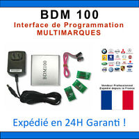 REPROGRAMMATION OBD2 MULTIMARQUES - PROGRAMMATION - BDM 100