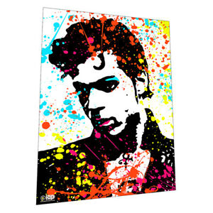 """1980s glam legend """"Prince"""" Wall Art Poster"""