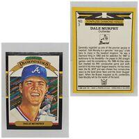 Vintage 1986 Donruss #3 Dale Murphy Braves Diamond Kings Baseball Trading Card