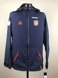 Men's Adidas Climacool Team USA Hockey 16 World Cup Navy Full Zip Jacket NWT 2XL