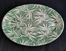 """Classic Wallace China """"Bird of Paradise"""" Oval Serving Platter, Excellent"""