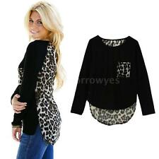 Unbranded Women's Animal Print Polyester Blouse Tops & Shirts